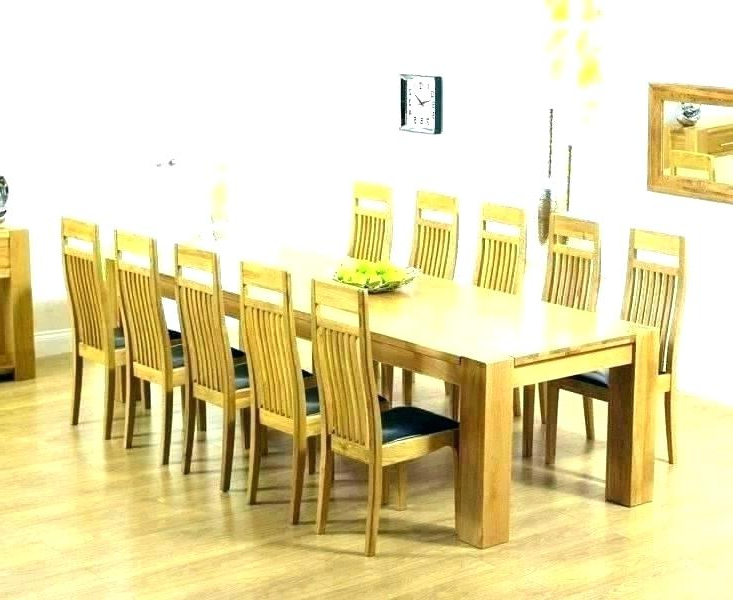 2018 Oak Dining Tables 8 Chairs Regarding Rosewood Dining Table 8 Chairs Table And 8 Chairs Dining Table With (View 1 of 20)
