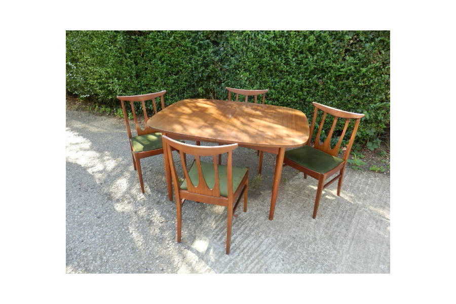 2018 Outdoor Brasilia Teak High Dining Tables With Regard To Vintage G Plan Brasilia Afrormosia Teak Dining Table & 4 Chairs (Gallery 15 of 20)