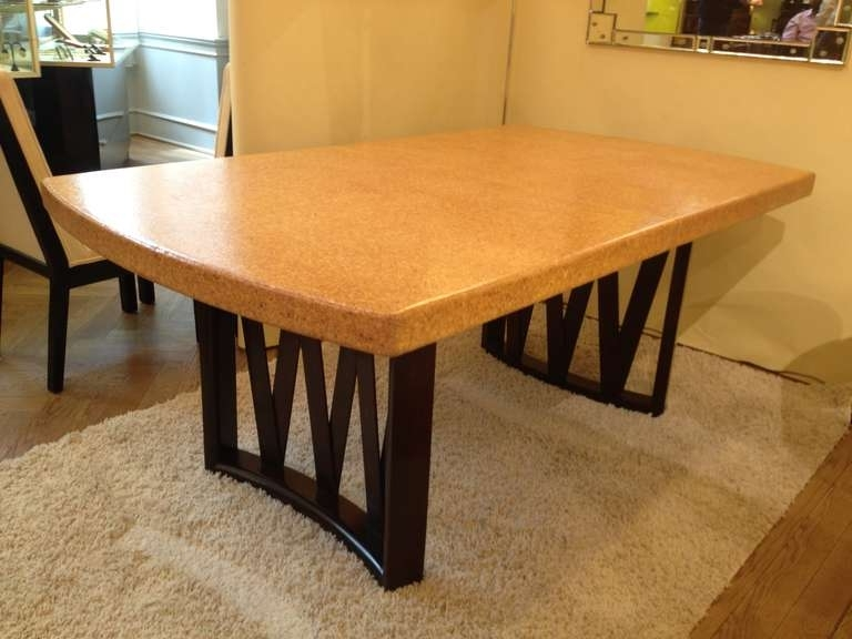 2018 Paul Frankl Cork Top Dining Table At 1Stdibs Within Cork Dining Tables (Gallery 8 of 20)