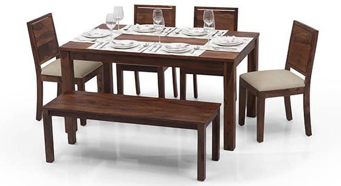 2018 Pleasurable Dining Table Set With Bench Arabia Oribi 6 Seater Urban Regarding Palazzo 3 Piece Dining Table Sets (View 1 of 20)
