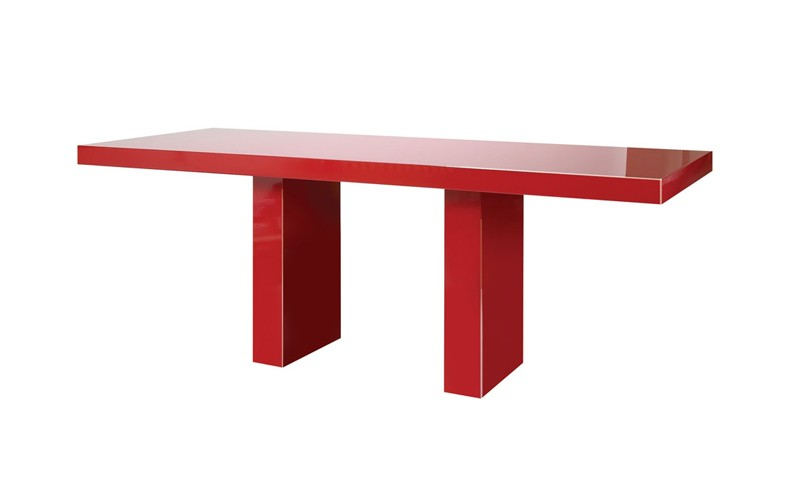 2018 Red Gloss Dining Tables With Regard To Nigeria Dining Table, Dining Table, Luxury Dining Table (View 9 of 20)