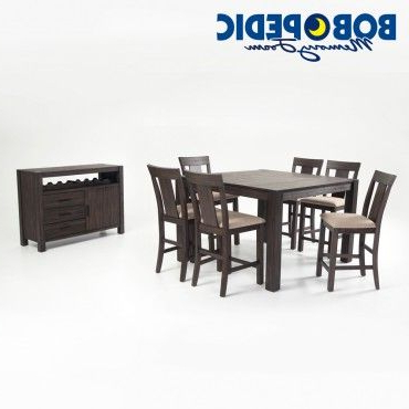 """2018 Rocco 9 Piece Extension Counter Sets For Summit 54"""" X 54"""" 8 Piece Counter Set (View 8 of 20)"""