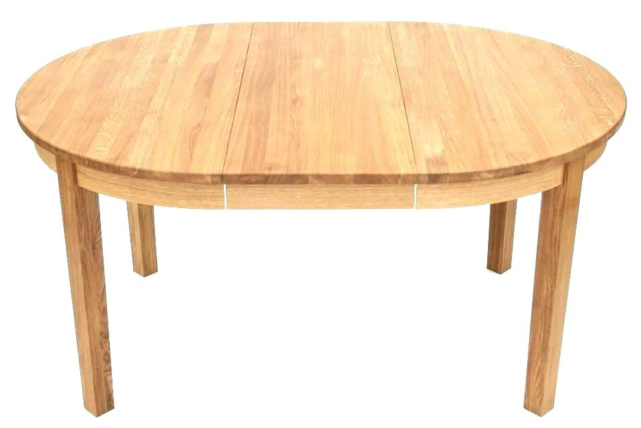 2018 Round Dining Tables Extends To Oval In Round Dining Table Expandable Extendable Dining Table And Chairs (View 16 of 20)