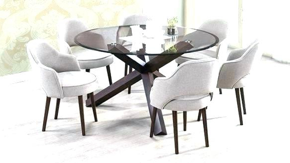 2018 Round Dining Tables For 6 – Modern Computer Desk Cosmeticdentist Regarding Round 6 Seater Dining Tables (Gallery 10 of 20)