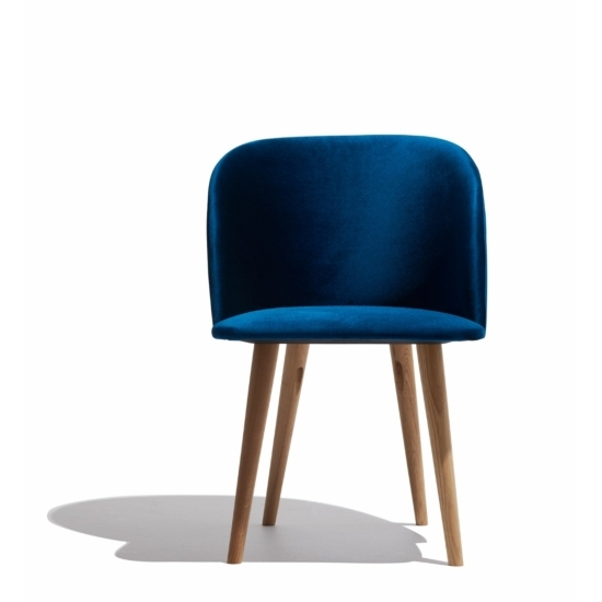 2018 Scandinavian Furniture: Modern Style Designs – Chairs, Sofas, Tables For Moda Blue Side Chairs (View 3 of 20)