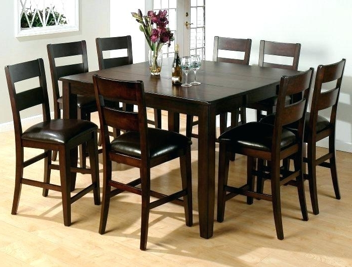 2018 Square Table With 8 Chairs Best Dining Tables Ideas On Seat Room For With 8 Chairs Dining Tables (View 2 of 20)