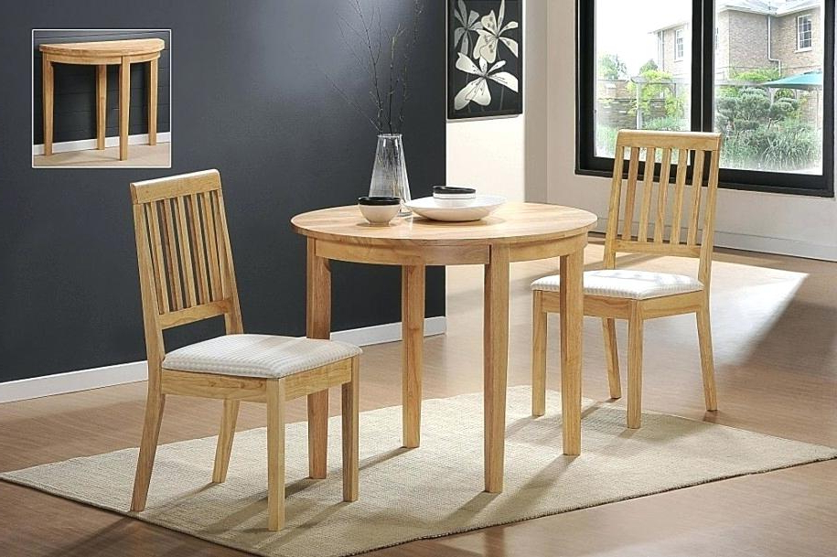 2018 Two Chair Dining Tables Pertaining To Table With Two Chairs Magnificent Unique Two Dining Table Chair With (View 16 of 20)