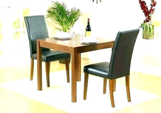 2018 Two Seat Dining Tables Pertaining To Two Seat Dining Table – Dinamos (View 1 of 20)