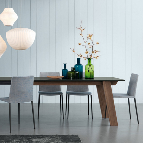 2018 Victor Dining Tables With Contemporary Furniture From Belvisi Furniture Cambridge (View 1 of 20)