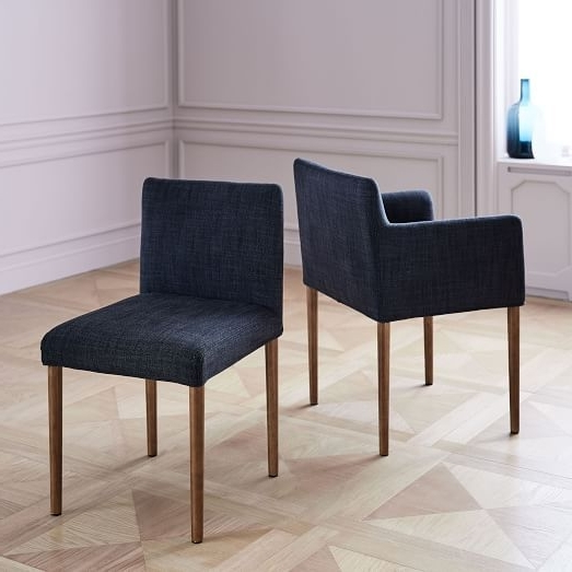 2018 Walden Upholstered Side Chairs Intended For Ellis Upholstered Dining Chair (Gallery 19 of 20)