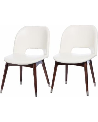 2018 White Dining Chairs Betty Modern White Leather Dining Chairs Zpjvtxu Inside White Leather Dining Chairs (Gallery 19 of 20)