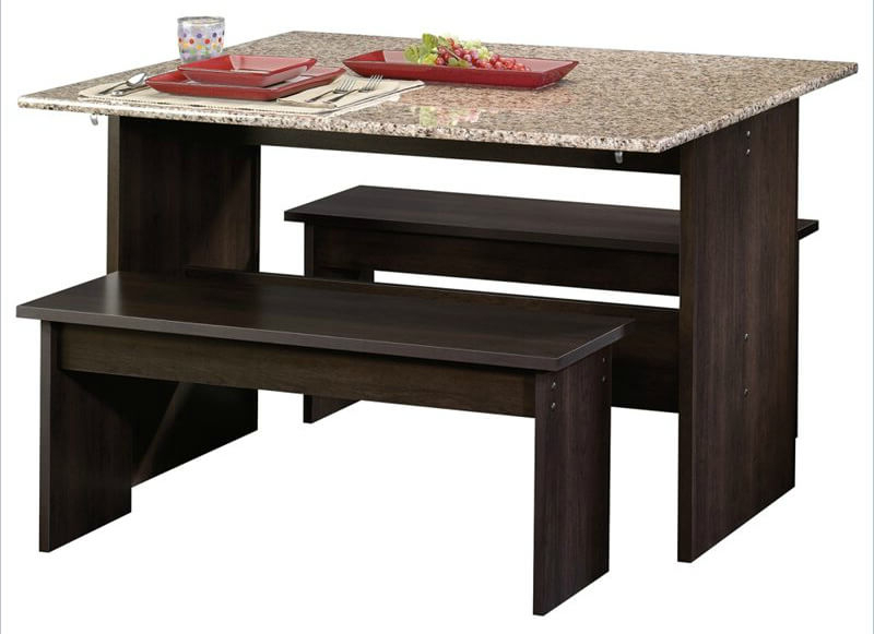 26 Dining Room Sets (big And Small) With Bench Seating (2018) Regarding Fashionable Small Dining Tables And Bench Sets (View 12 of 20)