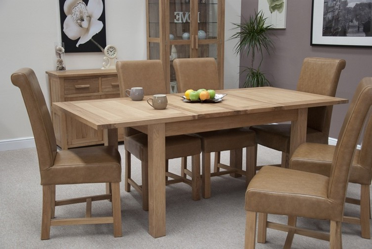 3. Mega Extending Dining Table Within Newest Extendable Dining Room Tables And Chairs (Gallery 9 of 20)