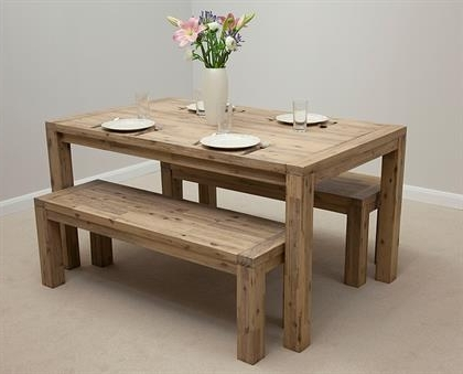 3Ft Dining Tables Inside Most Recently Released Attractive Dining Table And Bench Set Unusual Dining Table And Bench (Gallery 2 of 20)