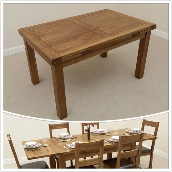 3Ft Dining Tables Inside Popular China Dining Room Furniture/3Ft X 3Ft Solid Oak 4To 6 Extending (View 3 of 20)