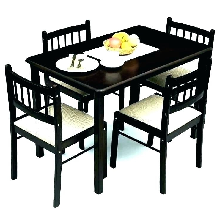 4 Seat Dining Tables Pertaining To 2017 4 Seater Dining Set Small 4 Table Awesome 4 Seat Dining Tables (View 16 of 20)