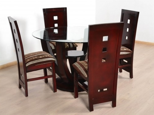 4 Seat Dining Tables With Popular Douglas Teak 4 Seater Dining Table Set: Buy And Sell Used Furniture (View 8 of 20)