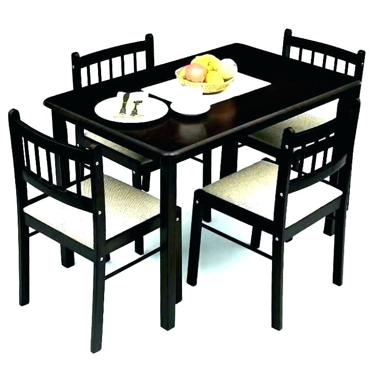 4 Seater Dining Set Small 4 Table Awesome 4 Seat Dining Tables For 2017 Small 4 Seater Dining Tables (View 16 of 20)