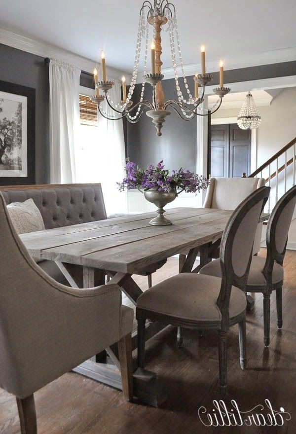 41 Best Sarah's Interior Design Style & Ideas Images On Pinterest Inside Well Known Bale Rustic Grey 7 Piece Dining Sets With Pearson White Side Chairs (View 2 of 20)