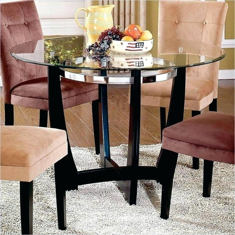 48 Inch Round Glass Table Top Tables Fresh Dining As Cover – Darog With Well Known Combs Extension Dining Tables (View 7 of 20)