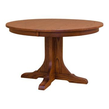 """48"""" Round Mission Table (View 9 of 20)"""