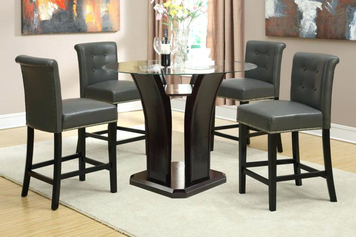 5 Pc Counter Height Dining Set Exquisite Porter 7 Piece Reviews On For Well Liked Jensen 5 Piece Counter Sets (View 2 of 20)