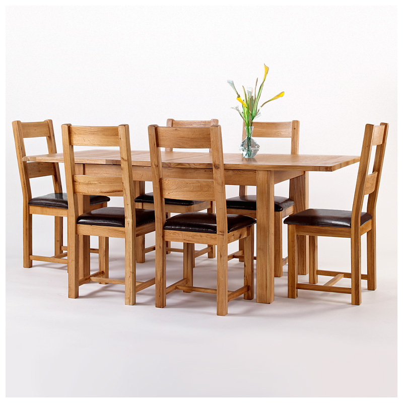 [%50% Off Rustic Oak Dining Table And 6 Chairs | Extending | Westbury Inside 2018 Oak Dining Set 6 Chairs|Oak Dining Set 6 Chairs Inside Popular 50% Off Rustic Oak Dining Table And 6 Chairs | Extending | Westbury|Current Oak Dining Set 6 Chairs Regarding 50% Off Rustic Oak Dining Table And 6 Chairs | Extending | Westbury|Most Current 50% Off Rustic Oak Dining Table And 6 Chairs | Extending | Westbury Pertaining To Oak Dining Set 6 Chairs%] (View 1 of 20)
