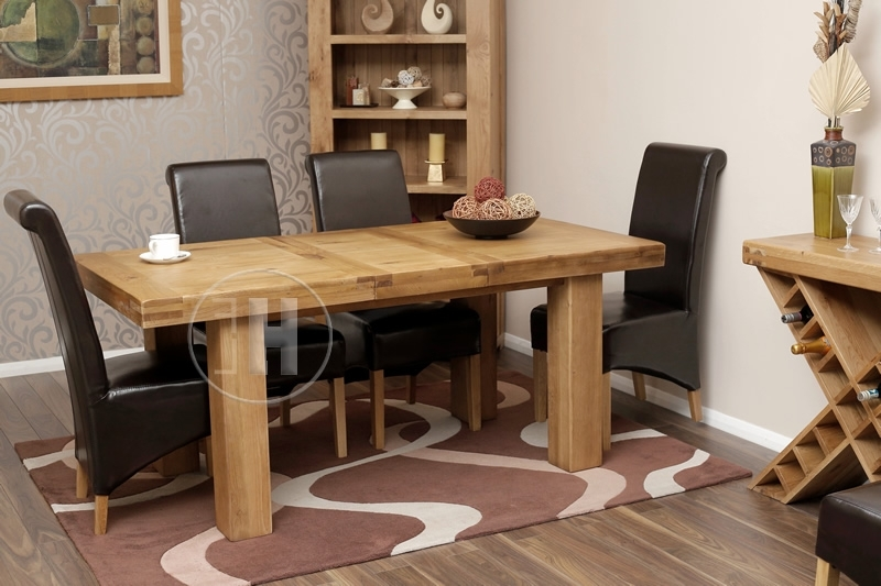 [%50% Off Rustic Oak Table And Chairs | Extending | Oslo With Regard To Favorite Chunky Solid Oak Dining Tables And 6 Chairs|Chunky Solid Oak Dining Tables And 6 Chairs Throughout Favorite 50% Off Rustic Oak Table And Chairs | Extending | Oslo|2018 Chunky Solid Oak Dining Tables And 6 Chairs With Regard To 50% Off Rustic Oak Table And Chairs | Extending | Oslo|Most Up To Date 50% Off Rustic Oak Table And Chairs | Extending | Oslo With Regard To Chunky Solid Oak Dining Tables And 6 Chairs%] (View 1 of 20)