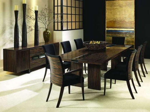 6 8 Seater Glass Dining Table Black Powder Coated Legs In Seat Throughout Latest Black 8 Seater Dining Tables (View 10 of 20)