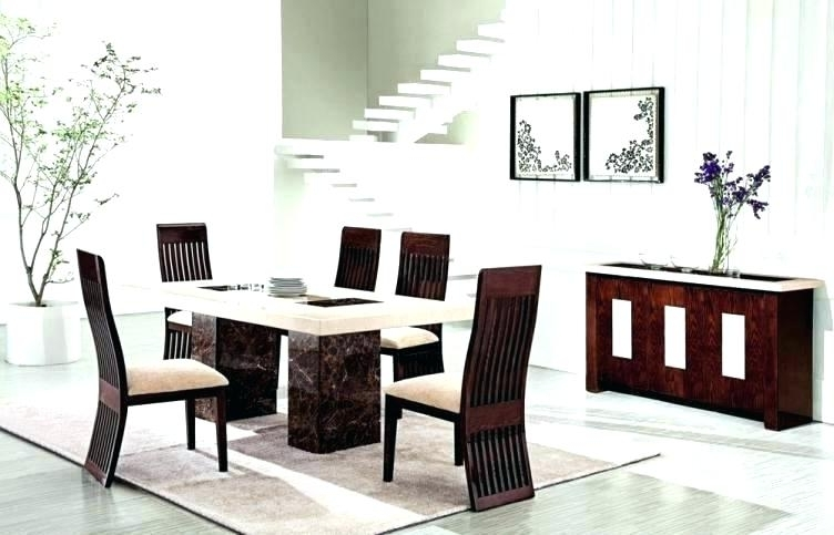 6 Chair Dining Table Sets Intended For Fashionable Round Dining Set For 6 Full Size Of Furniture Fascinating Chair (View 4 of 20)
