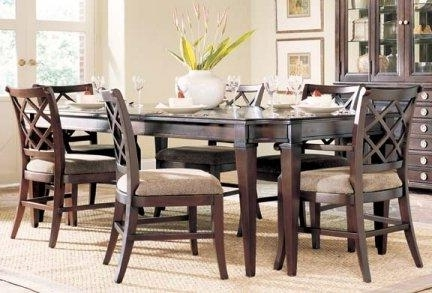 6 Chairs Dining Tables Inside 2017 Amazing Living Room Table And Chairs And Alluring Dining Room Table (View 3 of 20)