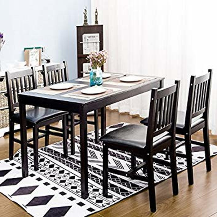 6. Extraordinary Square Dining Table Set For 4 23 Counter Height Pertaining To Fashionable Harper 5 Piece Counter Sets (Gallery 5 of 20)