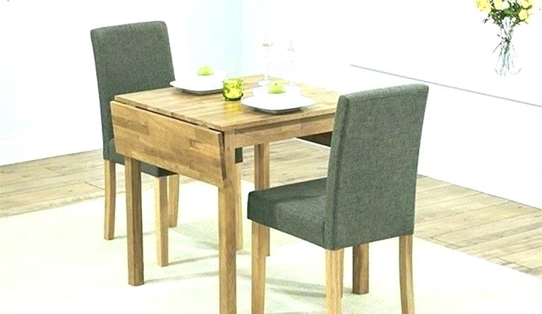 6 Piece Small Kitchen Table Set Tables And 4 Dining Chairs For Home Inside Latest Small Two Person Dining Tables (View 16 of 20)