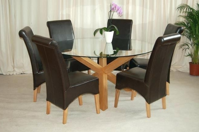 6 Seat Dining Table Round Wooden 6 Sitter Dining Tables Table Within Most Popular 6 Seater Round Dining Tables (Gallery 4 of 20)
