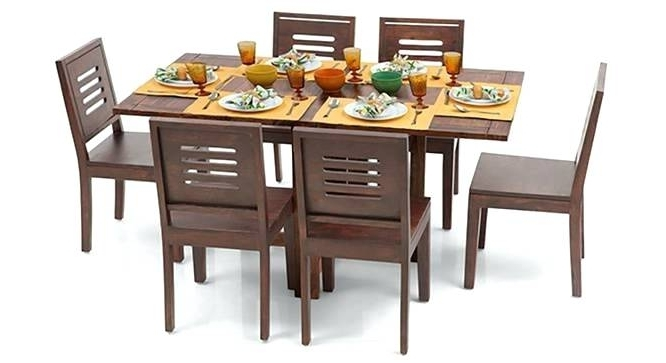 6 Seat Dining Tables Inside Well Known 6 Seater Dining Table Remarkable 6 Dining Table Set With Bench Urban (View 16 of 20)
