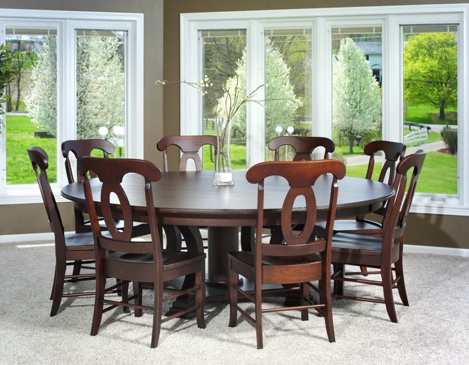 6 Seat Round Kitchen Dining Tables You Ll Love Wayfair Regarding Within Famous 6 Seat Round Dining Tables (Gallery 19 of 20)