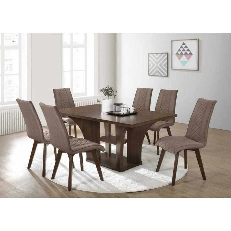 6 Seater Dining Set (Gallery 14 of 20)