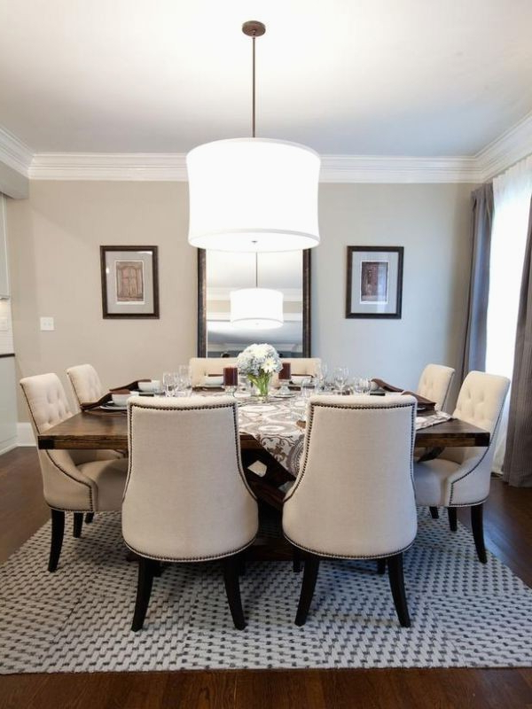 60 Square Dining Table Seats 8 Best Dining Tables Amusing 8 Chair In Most Popular Dining Tables Seats  (View 2 of 20)