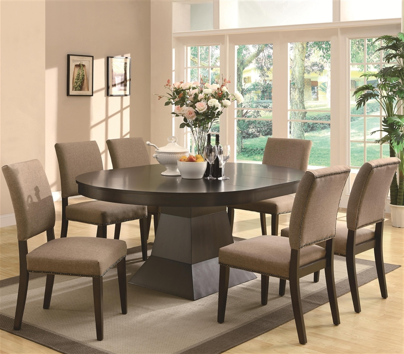 7 Piece Dining Table – Dining Tables Ideas With Trendy Delfina 7 Piece Dining Sets (View 2 of 20)