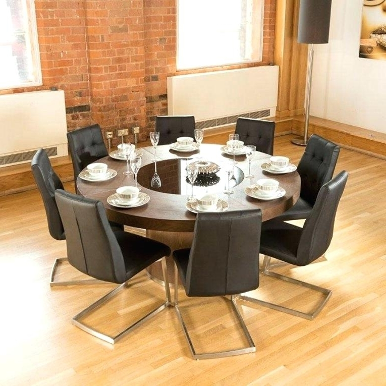 7 Piece Round Dining Set – Oistins Pertaining To Most Recent 6 Person Round Dining Tables (View 10 of 20)