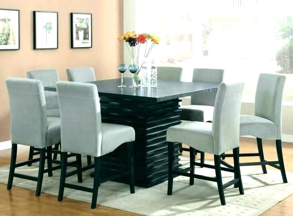 8 Chairs Dining Sets Regarding Well Known Round Formal Dining Table For 8 Formal Dining Room Table And Chairs (View 20 of 20)