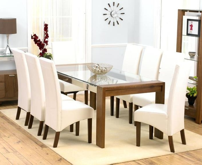 8 Chairs Dining Sets With Regard To Widely Used (View 11 of 20)