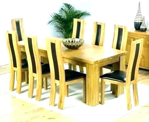 8 Dining Table And Chairs – Kuchniauani With Regard To Popular Dining Tables And 8 Chairs (View 13 of 20)