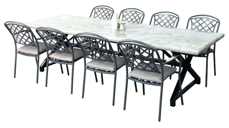 8 Seat Outdoor Dining Tables In 2017 8 Seat Outdoor Dining Table 8 Seat Patio Dining Set Square Patio (Gallery 10 of 20)