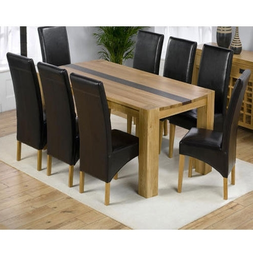8 Seater Black Dining Tables Regarding Famous 8 Seater Dining Table Set, Dining Table Set – Majestic Dream (View 8 of 20)