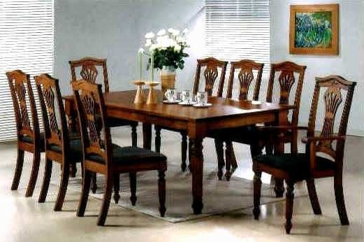 8 Seater Dining Table Sets Inside Recent 8 Seat Dining Room Table – Dining Table Furniture Design (Gallery 19 of 20)