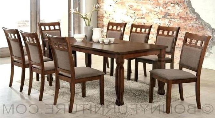 8 Seater Dining Table Sets With Newest  (View 8 of 20)
