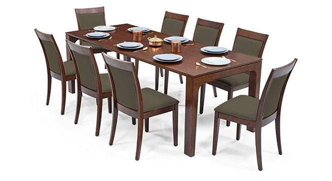 8 Seater Dining Tables And Chairs In Trendy 8 Seater Dining Table 8 Seater Dining Room Sets Square 8 Seater (View 12 of 20)