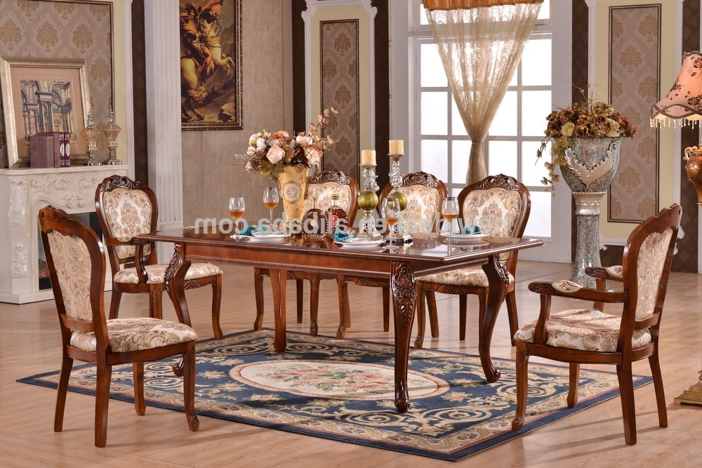 8 Seater Dining Tables And Chairs In Well Liked 8 Seater Extendable Dining Table Set Modern (Ng2882 & Ng2635A (View 6 of 20)