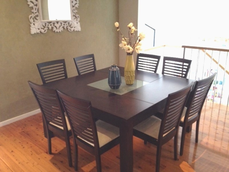 8 Seater Dining Tables And Chairs With Latest  (View 9 of 20)